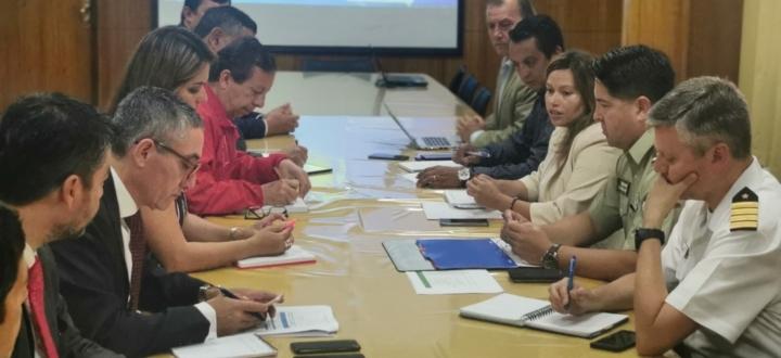 Fiscal regional expone cifras delictuales ante Consejo Regional de Seguridad Pública